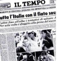 """Un assegno per Angelo Licheri, """"eroe"""" di Vermicino"""