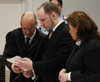 Breivik, mass murder norvegese: terzo giorno di processo