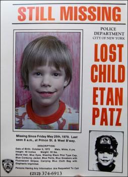 """Etan Patz: l'autoaccusa dell'assassino """"fa acqua da tutte le parti"""""""