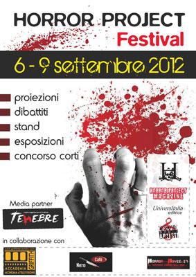 Da stasera fino a domenica l'Horror Project Festival a Roma