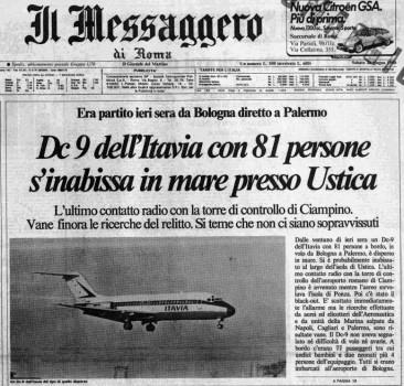 La strage di Ustica: tutta la verità. Prima parte