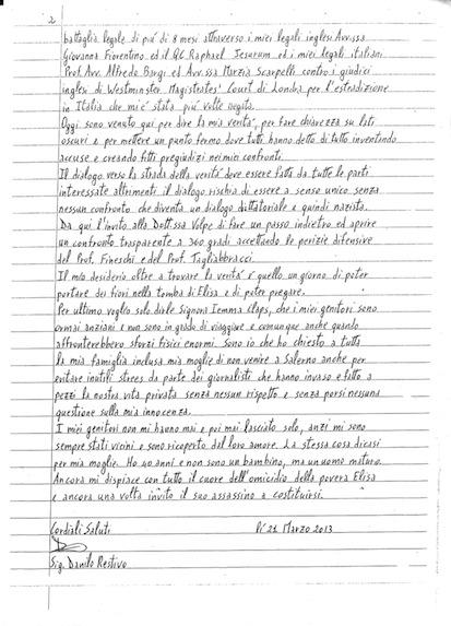 lettera restivo