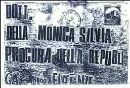 lettera della monica