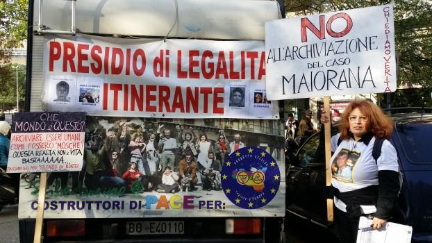 Caso Maiorana: quinto giorno di protesta per Rossella Accardo