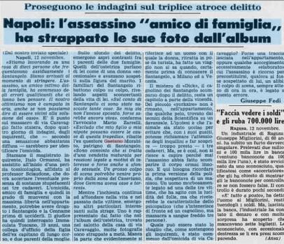 Strage di via Caravaggio, un mese alla verità