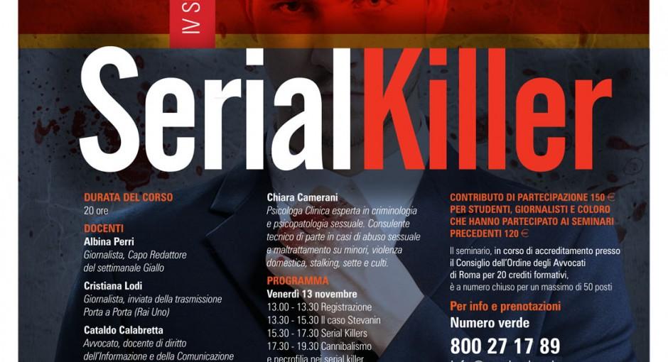 Un seminario per entrare nelle menti dei serial killer