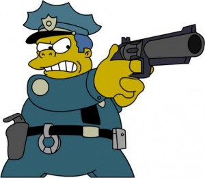 simpson polizia