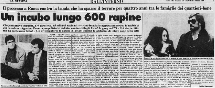 Archivi di CN: Agostino Panetta, il poliziotto che fece 700 rapine