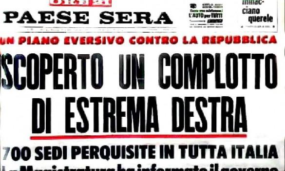 """""""La notte del colpo di stato in Italia, io c'ero"""""""