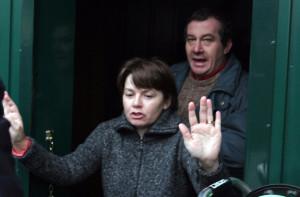 ROSA BAZZI CON IL MARITO OLINDO ROMANO PROBABILE INDIZIATO PER LA STRAGE DI ERBA